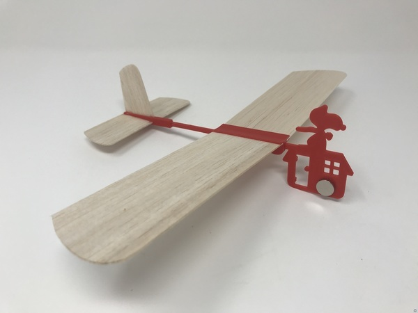 Red Baron Hand Launched Glider