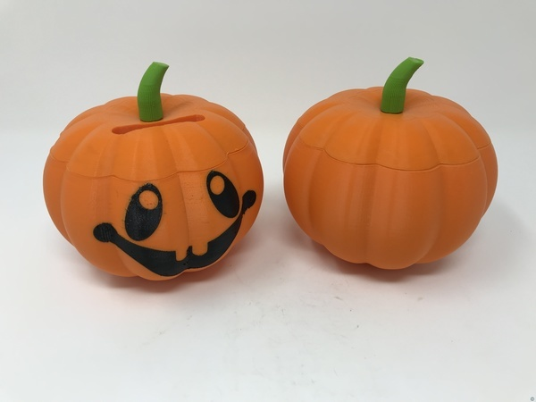 Simple Secret Box IV: Jack O'Lantern Coin Box