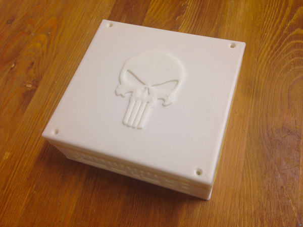 """""""The Punisher"""" Top Plate (For The Jetson-TK1 Case)"""