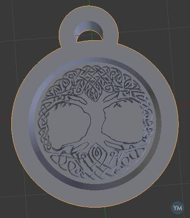 Yggdrasil Necklace (Normal and Battle Worn)
