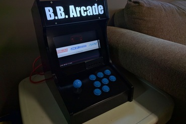 YouMagine – Mini Arcade Cabinet with Marquee (Raspberry Pi 3