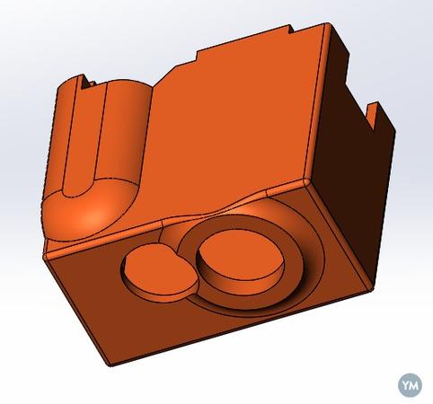 E3D silicone sock V6 & Volcano 3D model