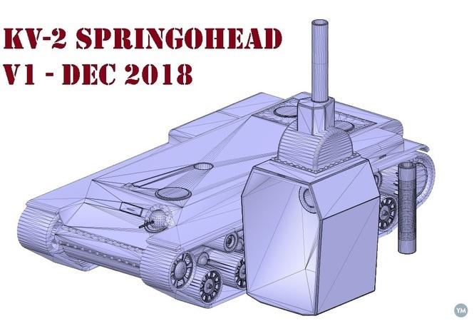 KV-2 Springohead (bobblehead) v1