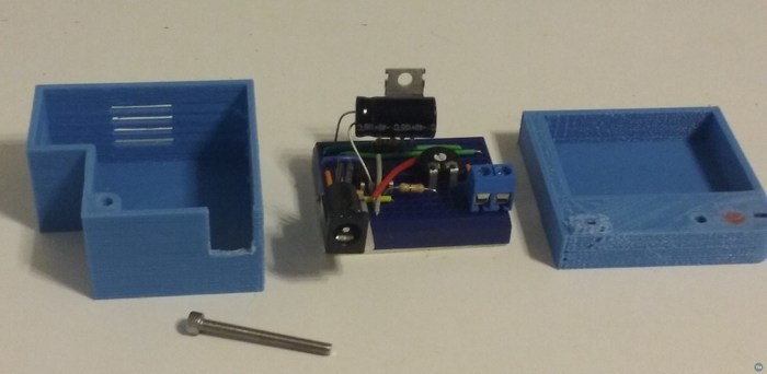 Caja para mini protoboard