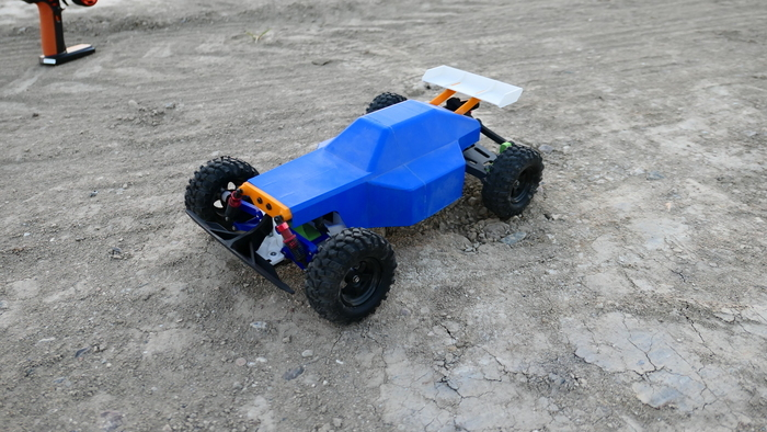 3D Printed RC Buggy: Version 2 (RWD)