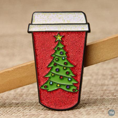 Chirstmas Cup Custom Lape Pins