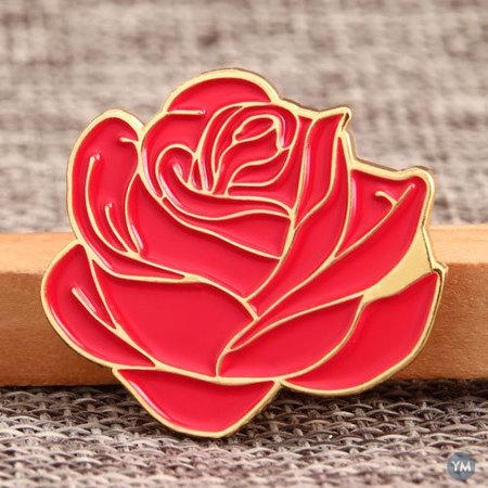 Blooming Flower Soft Enamel Pins