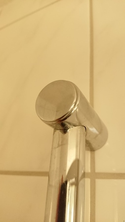 End Cover for Shower Head Bar