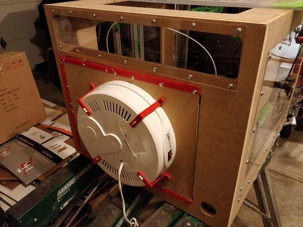 3D Printer Dehydrator Chamber Heating