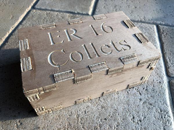 Box for ER16 Collets