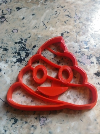 Poop-Emoji Cookie Cutter
