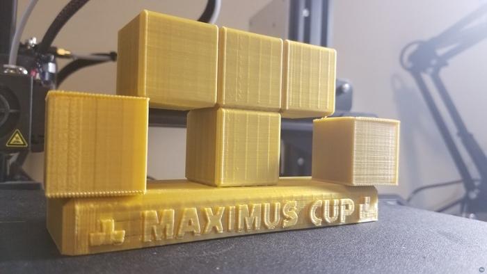Nintendo Switch - Tetris 99 - Maximus Cup Trophy