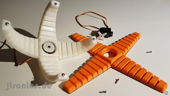 Robotic Flex Gripper Dual Material