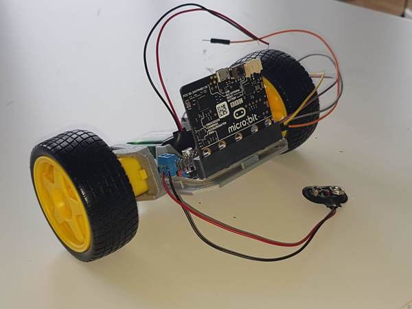MicroBit rc car frame