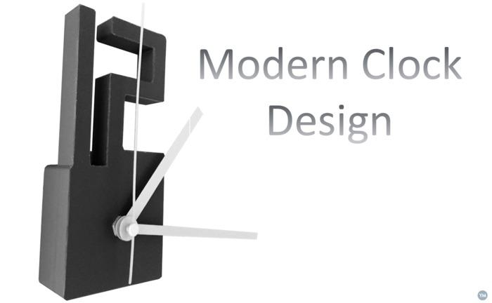 Modern Clock Design