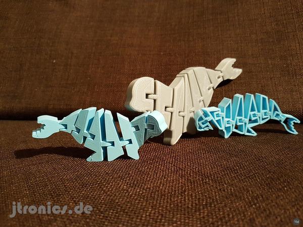 Flexi Articulated Mini Seadog Seal