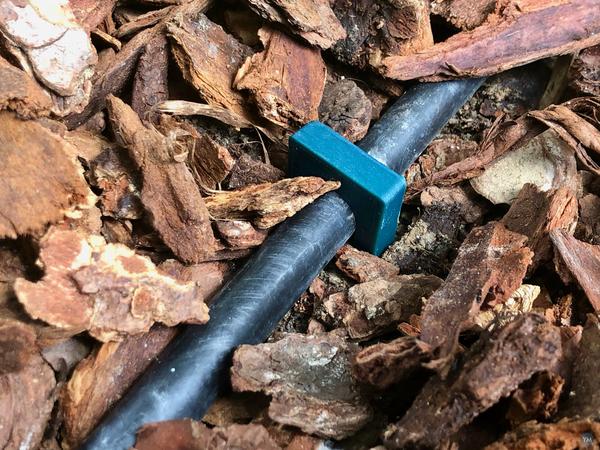 Drip Irrigation Tubing Hold Down