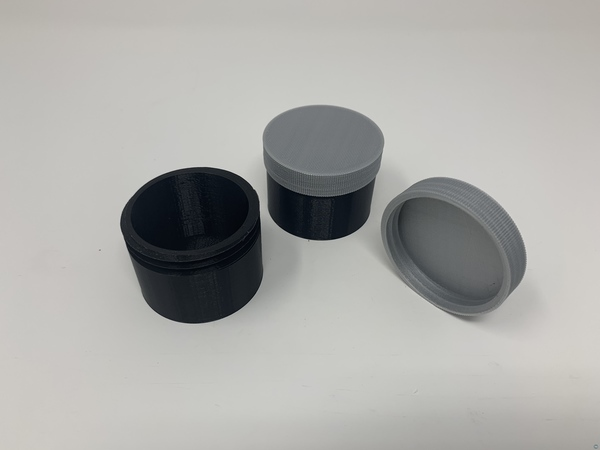 How I Designed a Simple Threaded Container With Autodesk Fusion 360.