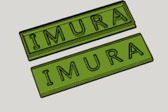 Imura Family Name Plate