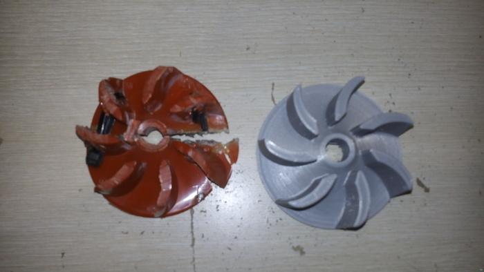 vacuum cleaner impeller
