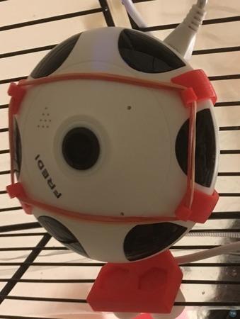 FREDI WiFi Camera Holder for birdcage
