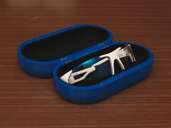 Free glasses case