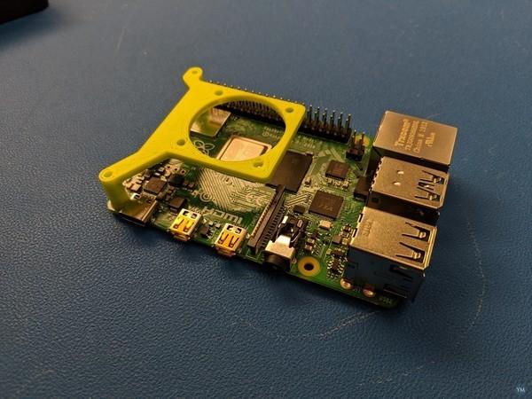 Raspberry Pi 4 Fan Mount **Backward Compatible!**
