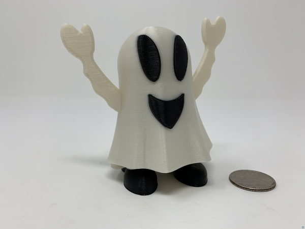 Halloween Happy Ghost Pin Walker.