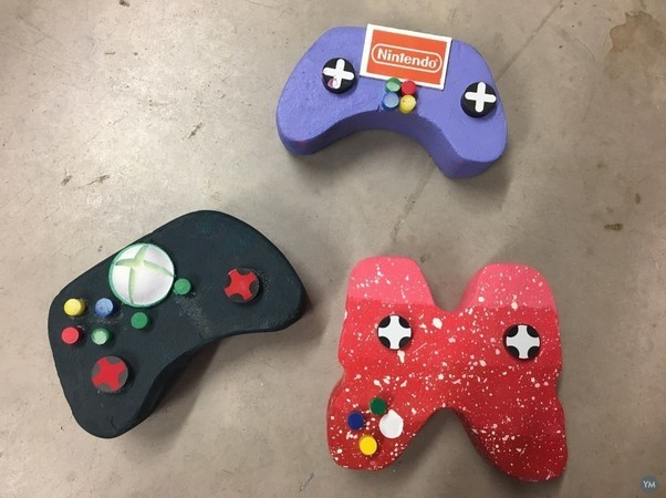 Individual buttons for Model Games Controller