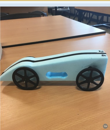 Race for the Line Model Car Building/Testing