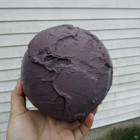 The Globe - Lithospheric plates