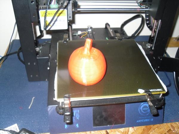 3d scann of real pumpkin