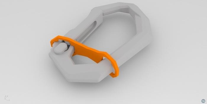 Cabiner Key Ring Retainer