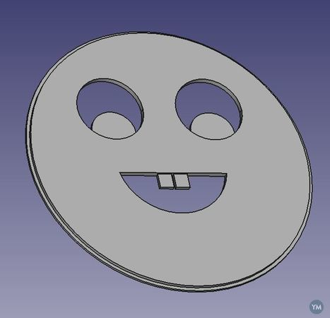 MSE4777 Smiley Lens Cover