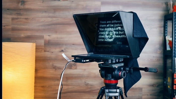 """Full-size Teleprompter (10-13"""" screen size)"""