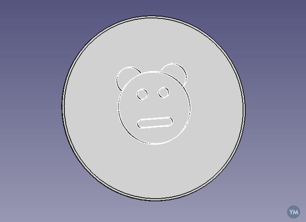Bear Lens Cover