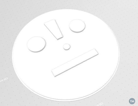 Blocko-man screen cover