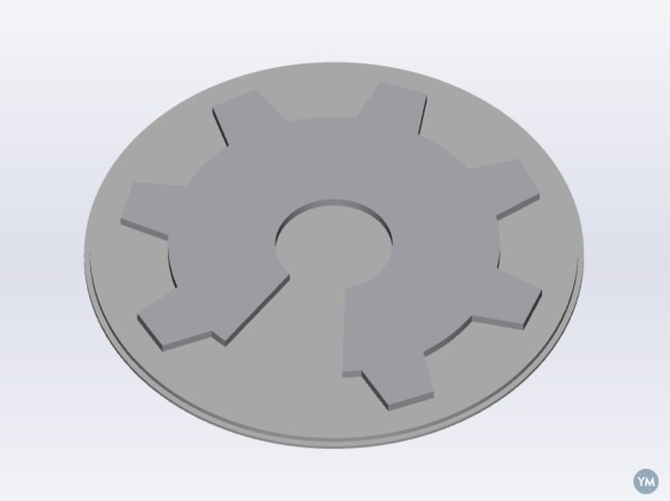 OSHW Recessed Light Cover