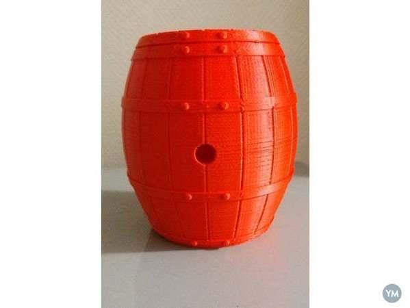 Barrel , pen holder