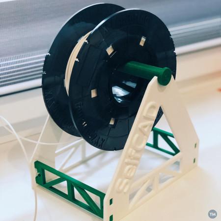 3D Printable Filament Holder