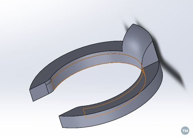 Ultimaker bowden holder clip