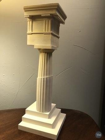 Greek Doric Order Column