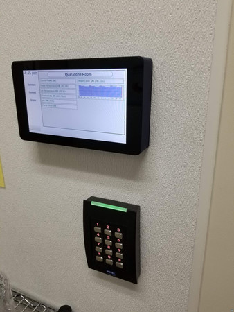 Raspberry Pi Screen Wallmount