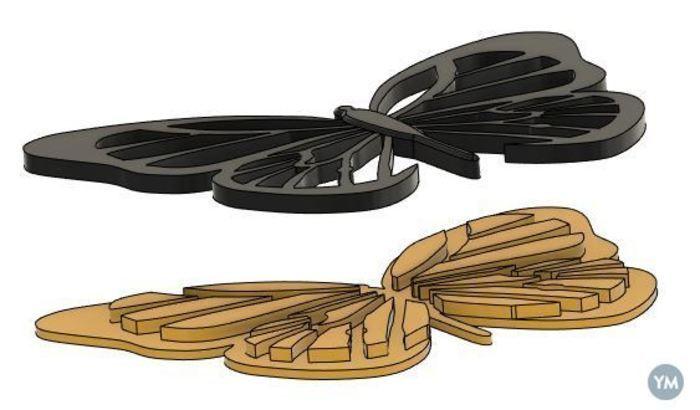 Monarch Multi-part Magnet