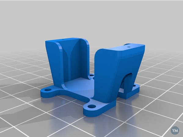 Micro Servo Mounting Bracket 03