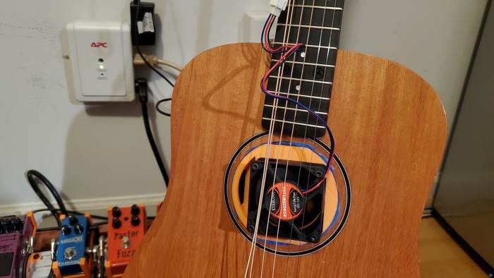 Baby Taylor 2 Guitar Hole Desmokifyer Fan Mount