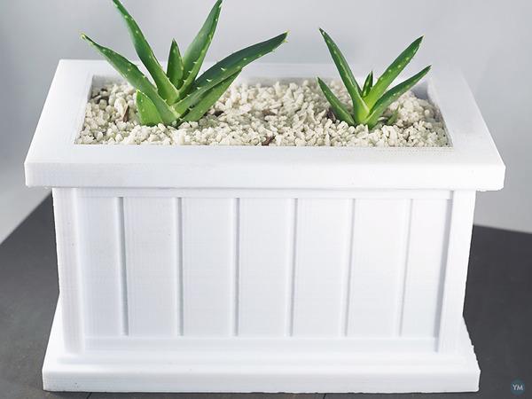 Modern Rectangle Planter