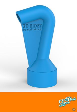 3D Bidet by LaProto.mx