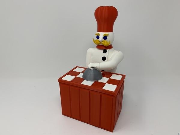 "The ""Magic Chef"", A 3D Printed Automata"