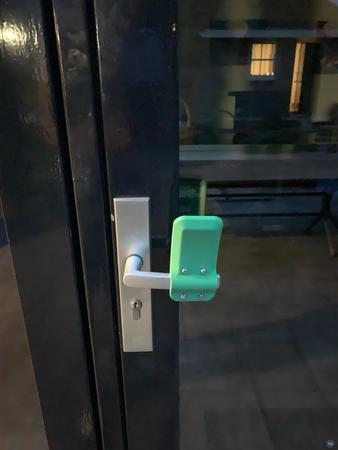 Fast printing Cura project for the hands-free door opener by Materialise